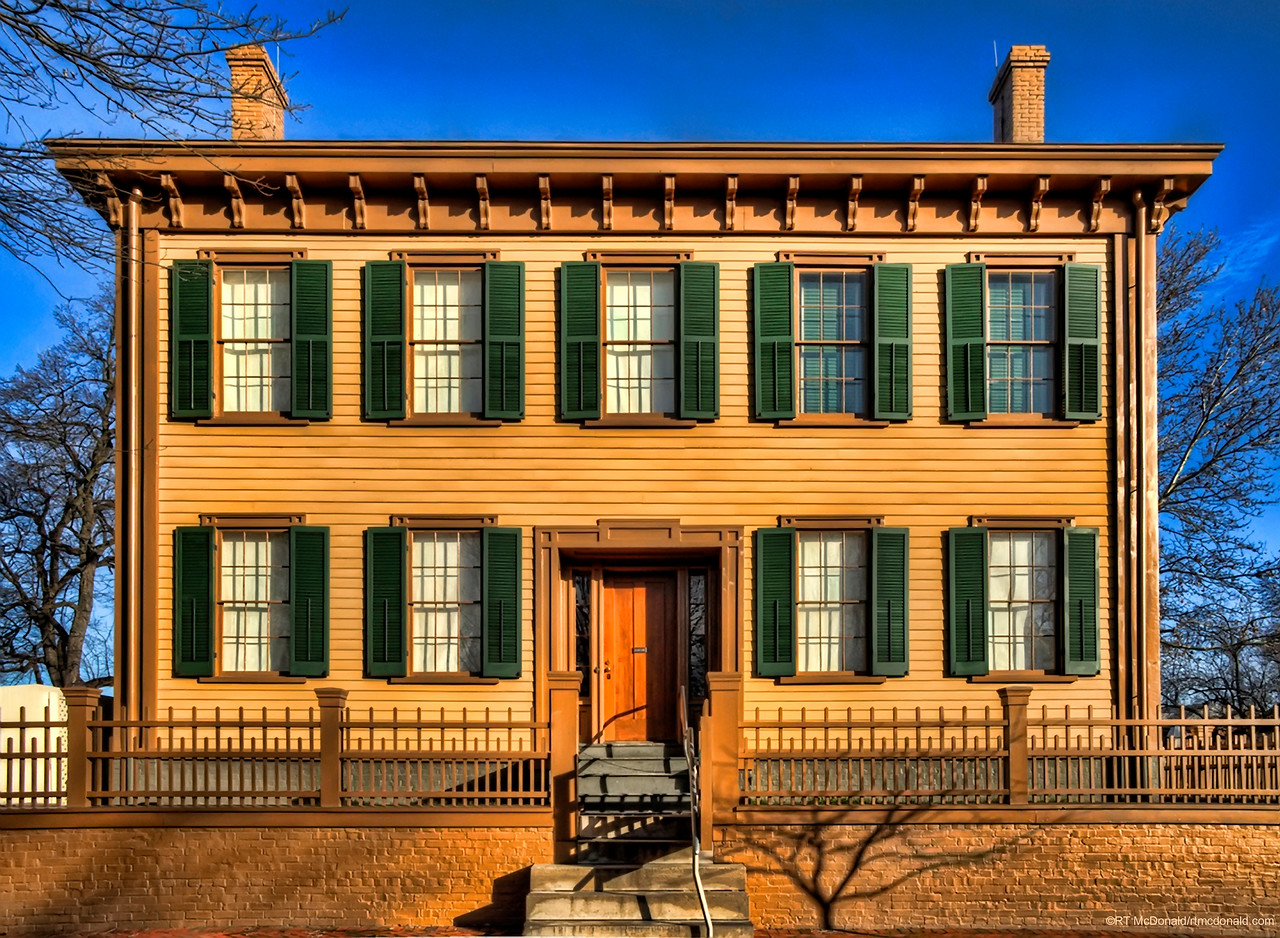 Lincoln Home in Daylight