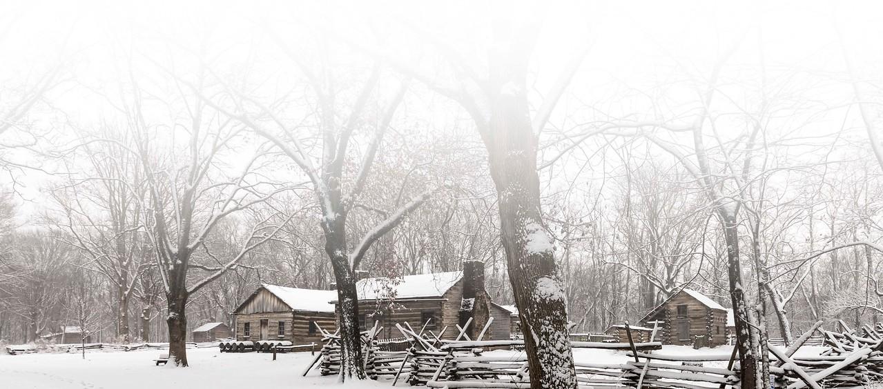 New Salem Snow Scene