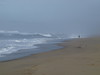 A walk along the beach with King Tides