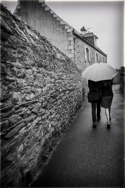 Walk in the rain