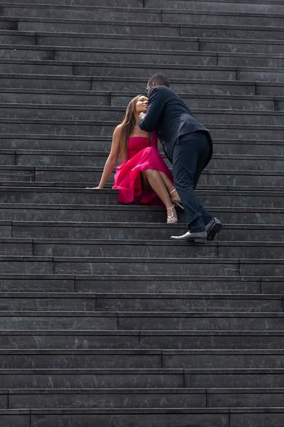 Make her feel she landed