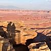 Shadows on the canyon