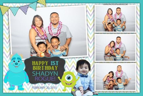 Shadyn's 1st Birthday (Fusion Photo Booth)