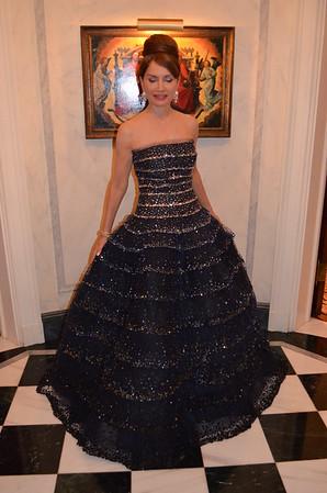 Shafiroff De la Renta Gown