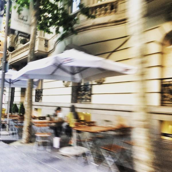 Calle de Serrano, Madrid.