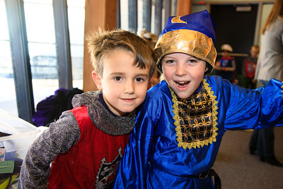 Shakespeare First Grade Performs The Tempest