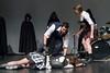 Romeo, Benvolio and Tybalt<br /> <br /> Romeo has killed Tybalt, and Benvolio tries to wisk Romeo away