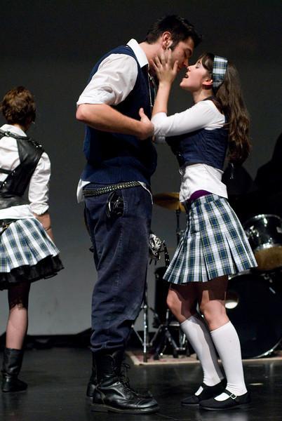 Romeo (Aeon Brady) and Juliet (Christine Behrens)