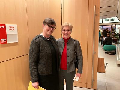 Ellen Nichols of Arlington and Annie O'Connor of Lowell