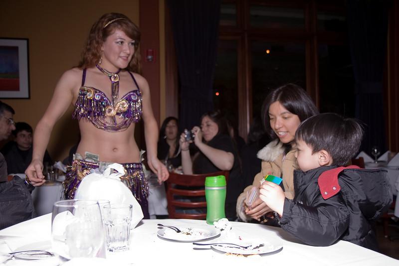 Marium is giving Cyrus money.