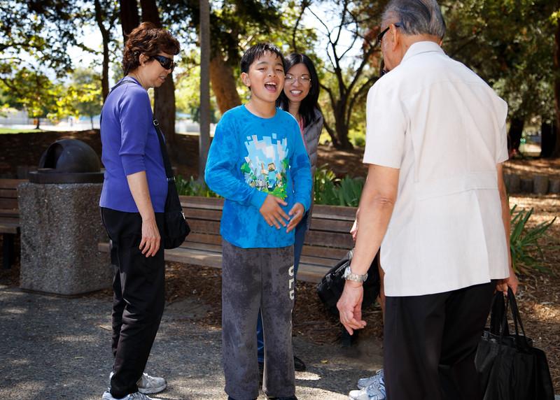 Cyrus and the Arculli Family at Serra Park