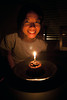 After dinner at Farallon, Shalimar's birthday celebration continued at home with a small chocolate lava cake. Happy Birthday Shalimar!<br /> <br /> All photographs were shot handheld with a Canon EOS 5D Mark II and an EF 24-105mm f/4 IS lens.