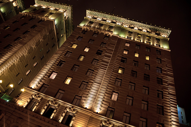 The Westin St. Francis Hotel in Union Square.