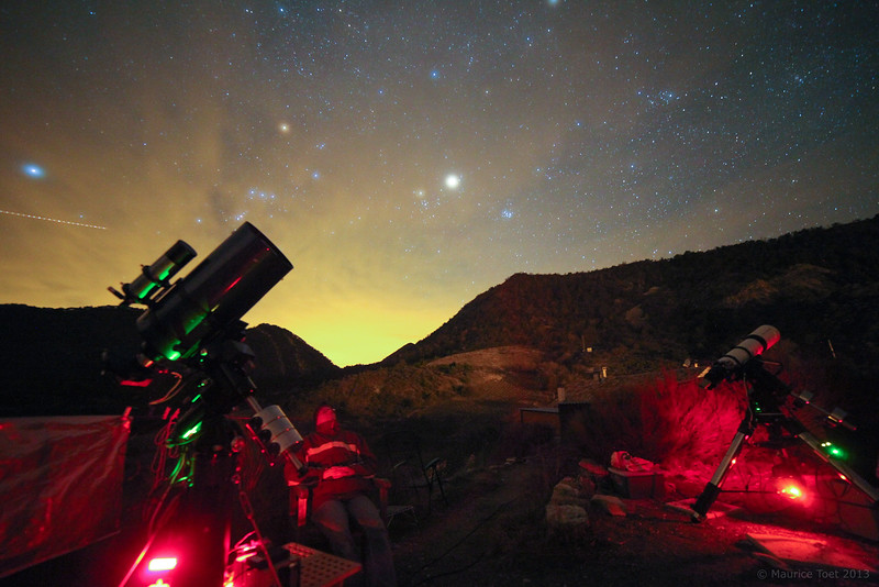 Astrophotographer at Work