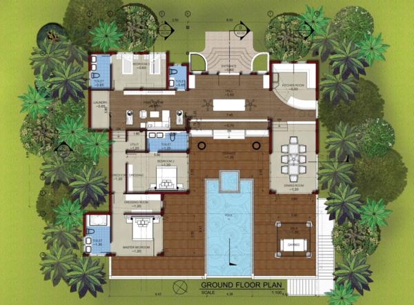 Shamballa Villa Floor Plan