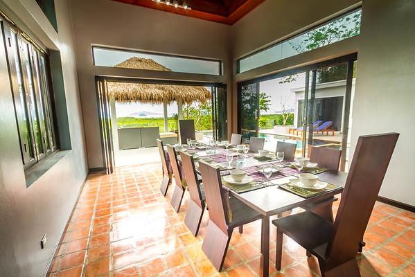 Shamballa Pool Villa Dining Area