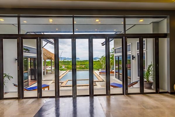 Shamballa Pool Villa reception area