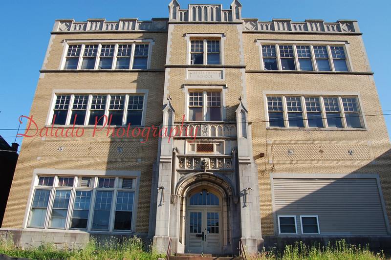 Former St. Stephens School in Coal Township.