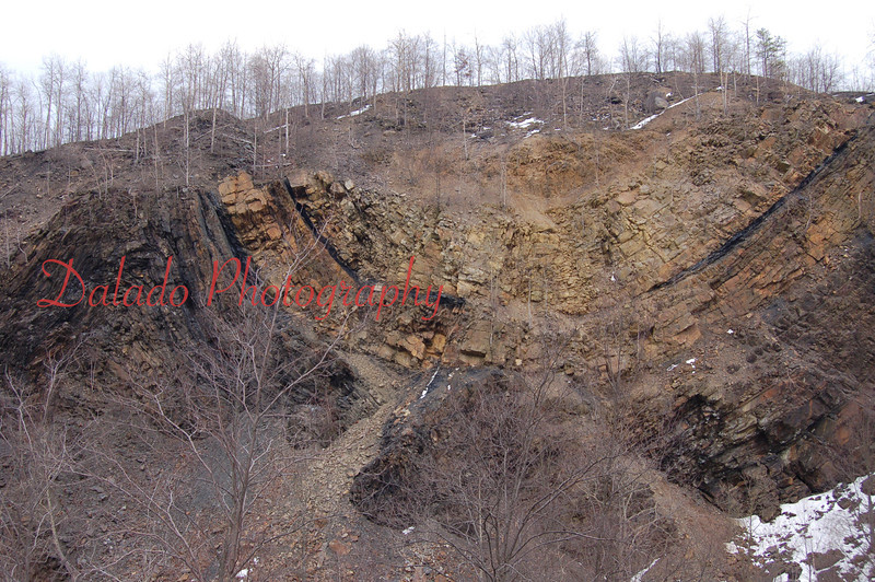 An anticline at the Whaleback near the Third Patch.