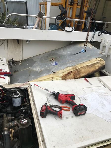 Starboard Side Fuel Tank