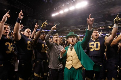 Notre Dame Football Shamrock Series Indianapolis Indiana 2014 Photography by Marcus Snowden #sva #espn #schoolofvisualarts #indy #ncaa GQ  #indianapolis #snowdenphotography #marcussnowden #notredamefootball