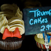 "Shancakes Bakery owner Shannon Sylvia created ""Trump Cakes"" to sell during Inauguration day on Friday. Syliva said when she arrived to open the shop at 9 a.m., she had a few guests waiting to purchase the cakes. Shortly after noon on Friday, she had already sold a couple hundred of the sweet treats. SENTINEL & ENTEPRISE / Ashley Green"