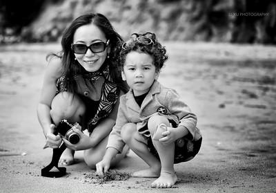 Li and Caden Xu, Ritz Carlton, Half Moon Bay, CA (20140728)