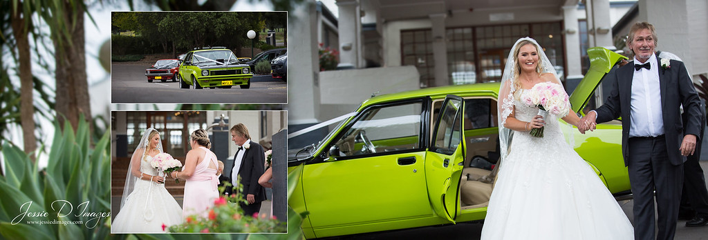 Jessie D Images - Wedding Seble - Crowne Plaza weddings - wedding car
