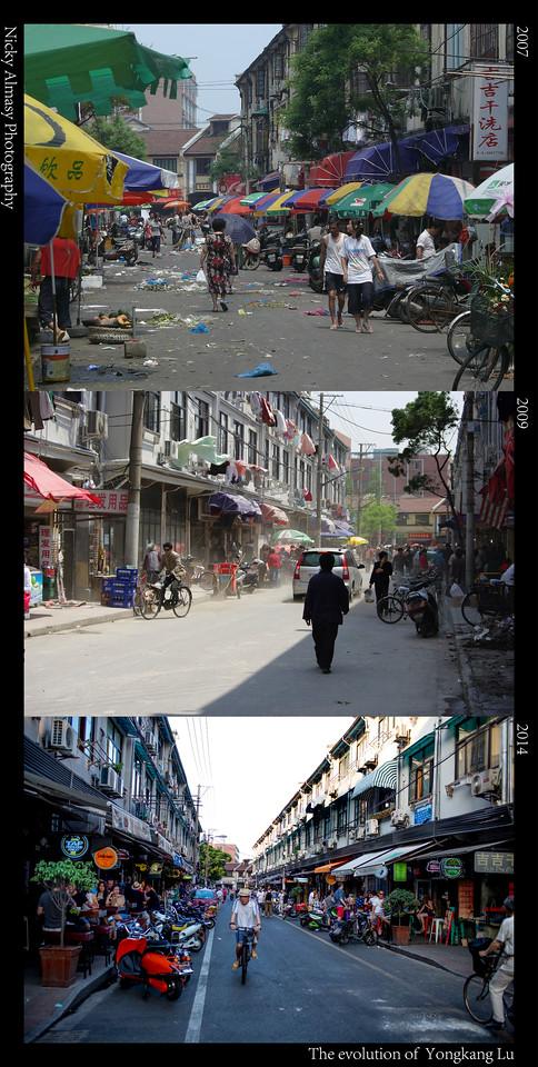 The Evolution of Yongkang Road