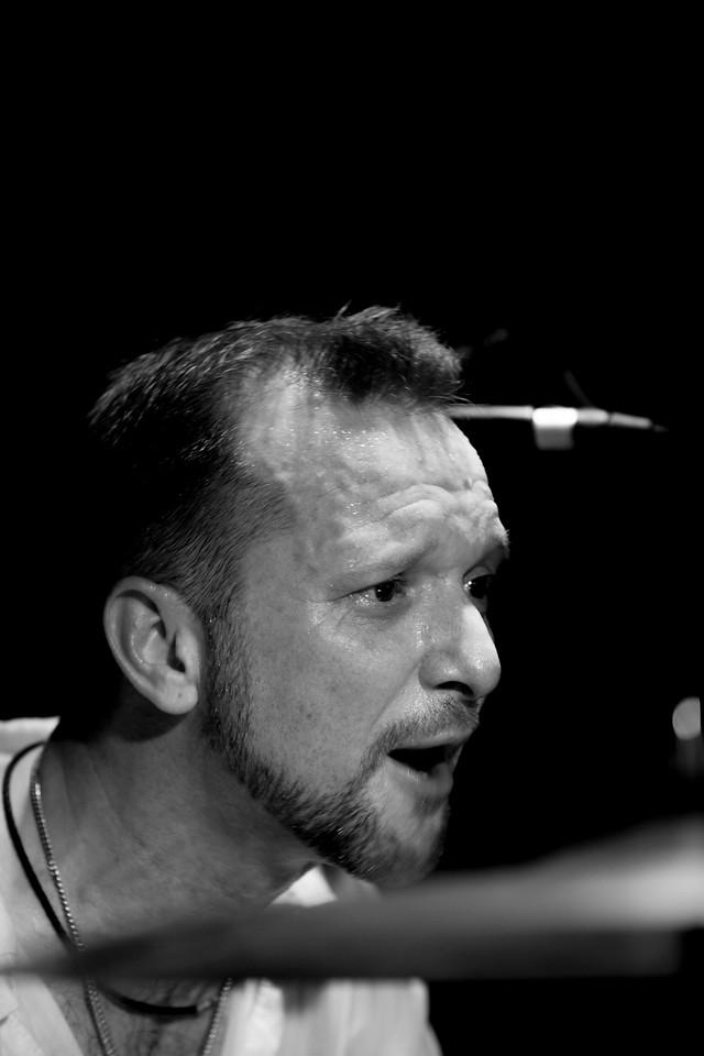 Drummer Steve Elson, The Melting Pot, 2011