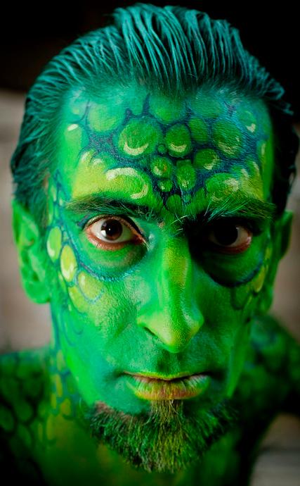 Alec Haavik as the Lizard, 2011