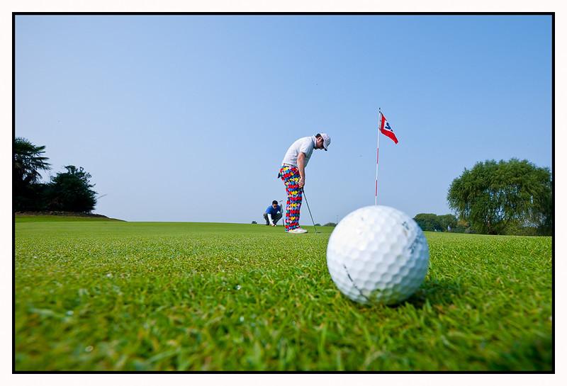 Golfday in Suzhou Sanyang. Great day - horrible score