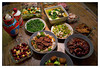 Sun 22 Jan - New Year Dinner<br /> <br /> Chinese New Year today and Jen's parents came over for dinner. Normally we go over to their place this day, but as kids are still sick, we changed location.<br /> <br /> Chinese New Year means a lot of food, and here is just the start of it...