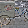 Mobile ice cream bike