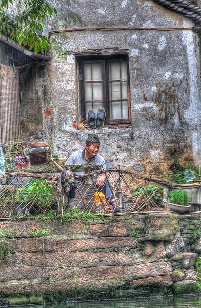 Old china Man