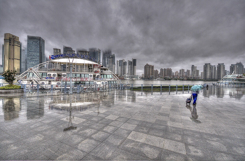 Rainy Day in Shanghai
