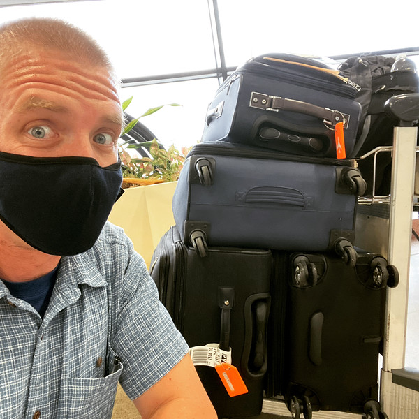 Upon arrival to Shanghai, I had to go through a very long process of temperature/customs/and COVID tests.  The lady that gave me the COVID test was quite vigorous with the stick my nose - it hurt!<br /> <br /> Thankfully, I was on the first flight of the day so it didn't take too long (around 3 hours).  After this, the government bussed us to our quarantine hotel.  I was forced to stay in the hotel room for 14 days.