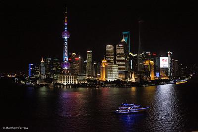 Sci Fi Skyline, Shanghai, China