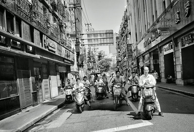 Hoodlums, Shanghai, China