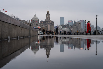 Reflection at The Bund