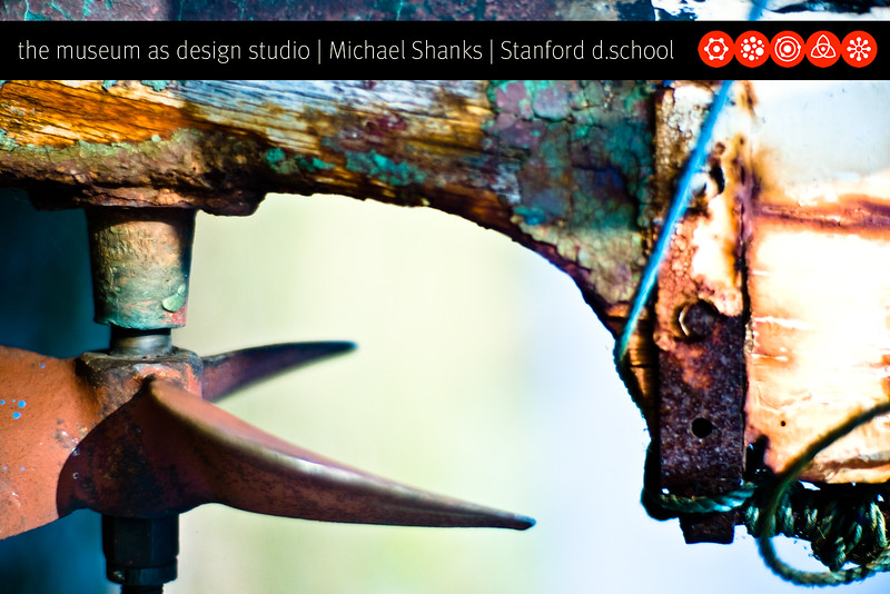 Michael Shanks - business card