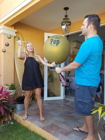 Shannon & Luigi reveal party