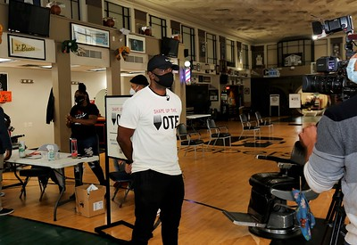 Shape Up The Vote at Gee's Clippers Monday September 28, 2020