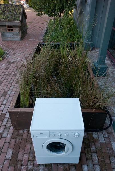 Wetland Washing Machine, by artist Mark Brest van Kempen.