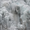 Waterfall in winter, HeilongTang, Miyun, Beijing, China
