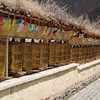 Prayer wheels in Zhongdian, Yunnan, China