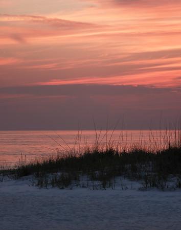Sunset & Seagrass
