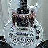 You can bid (via e-mail) for this Epiphone electric guitar autographed by Third Day.  Simply e-mail your bid to bid@fln.org.