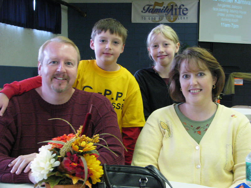 The Meighan family from Beaver Dams came to enjoy the Kidz Korner Karnival and some delicious food at the Sharathon.