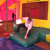 """Randy trying to exit the """"Bouncey House"""" without killing himself."""
